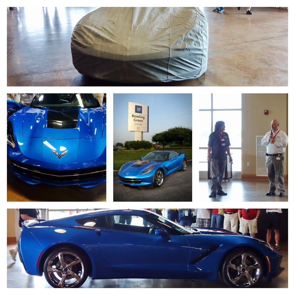 Chevrolet Unveils 2014 Corvette Stingray Premiere Edition