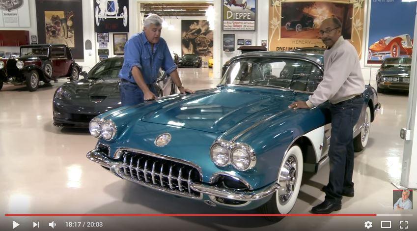 Vintage Corvettes in Jay Leno's Garage
