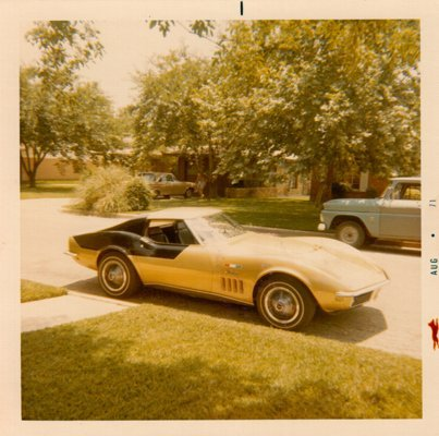 Here is a photo of the car Danny took in 1971.