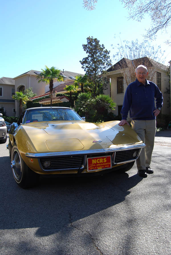 Alan Bean has since been reunited with his 1969 Corvette Astrovette on several occasions.