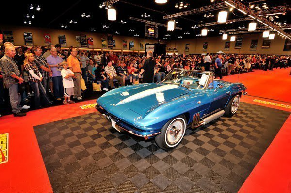 1963 Harley J. Earl Corvette Sells for $1,500,000 at the Mecum Chicago Auction