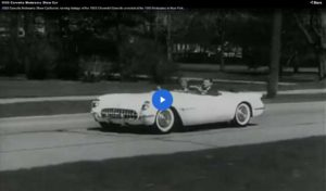Video: 1953 Corvette Motorama Show Car Scenic running footage of the 1953 Chevrolet Corvette unveiled at the 1953 Motorama in New York.