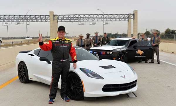 Hennessey 2014 C7 Corvette Breaks 200 MPH on New Texas Toll Road