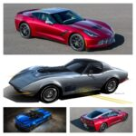 Chevrolet showed two unique Corvettes at the 2013 SEMA Show – a 2015 Stingray styled in collaboration with KISS front man Paul Stanley and a vintage third-generation Corvette built with NASCAR champion Jimmie Johnson that features the 6.2L Gen V LT1 engine from the 2015 Corvette Stingray.