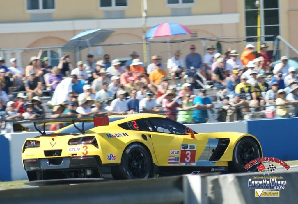 Sebring 2015 Results for C7.R Racing Team: GTLM Class No 3 start position was 3rd and finish position 1st, GTLM No4 start position was 7th and finish position was 9th.