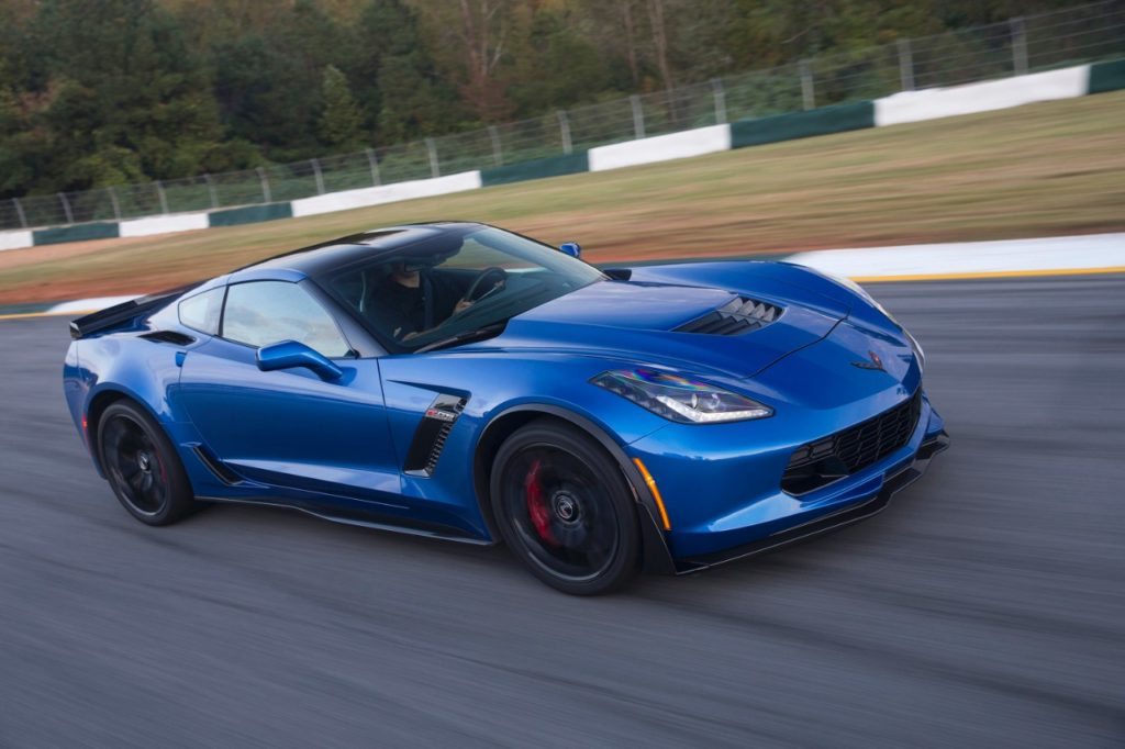 2016 Blue Corvette