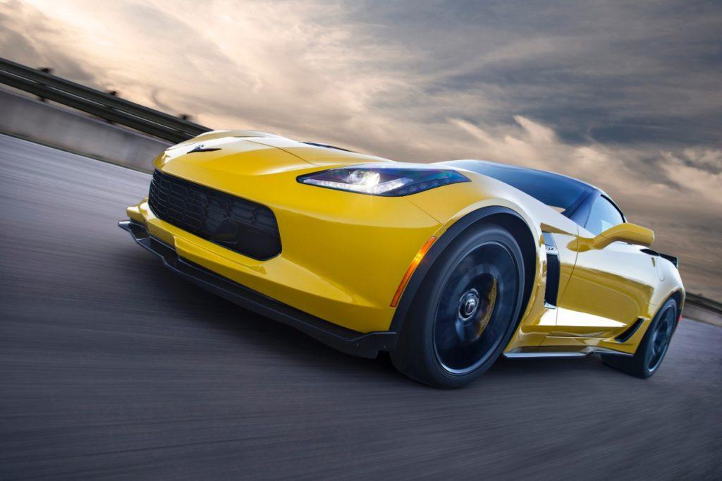 Yellow 2016 Corvette