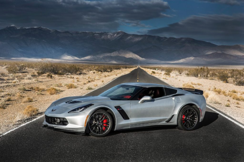 2016 Corvette ZO6 Drivers Side Shot