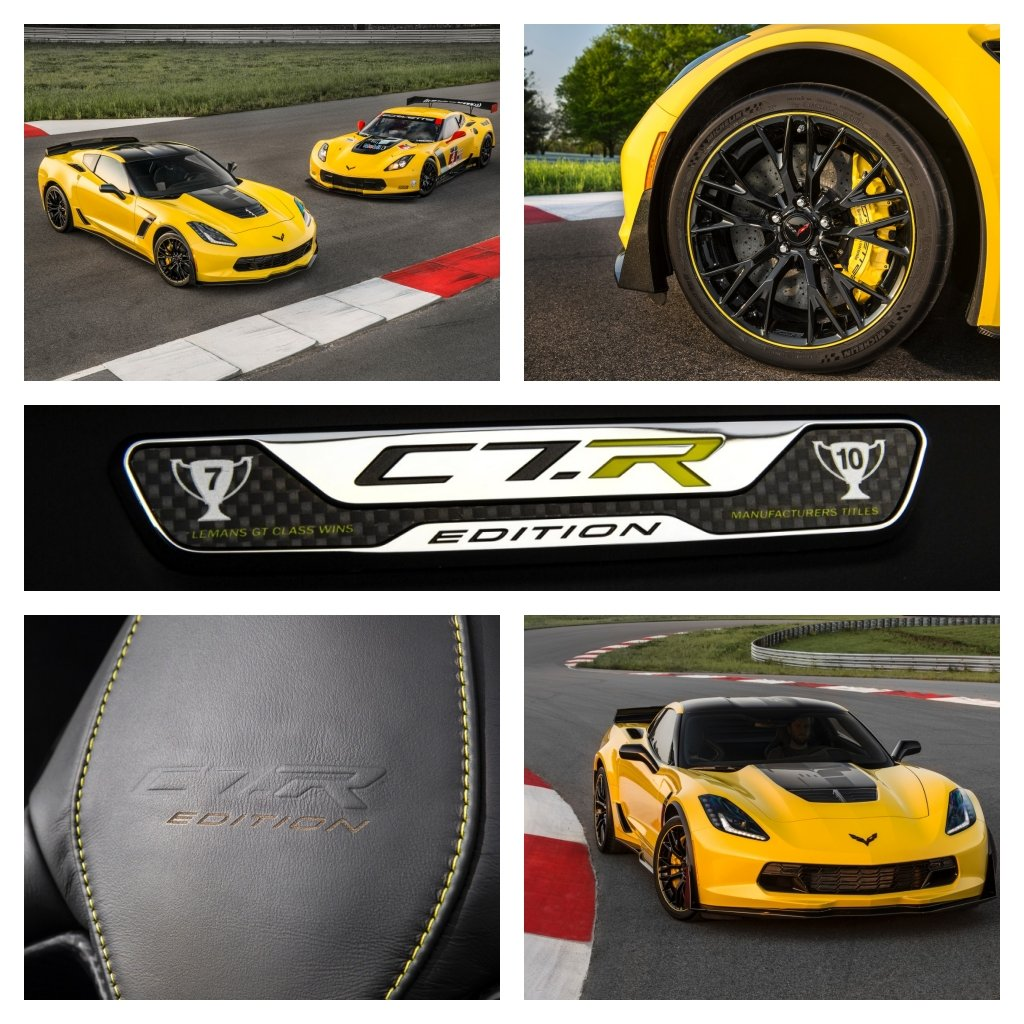 CORVETTE Z06 C7.R EDITION PAYS TRIBUTE TO RACING LEGACY