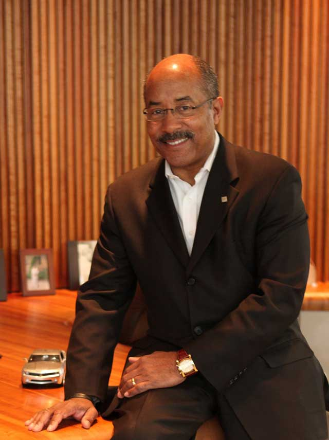 Ed Welburn, Vice President of GM Design, Biography