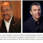 Ed Welburn Retires - Michael Simcoe named new vice president, GM Global Design.