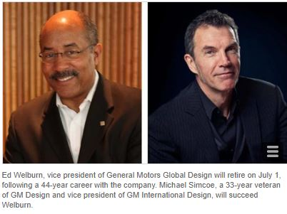 GM Design Chief Ed Welburn To Retire July 1