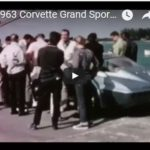 Zora Arkus-Duntov accompanies the 1963 Chevrolet Corvette Grand Sport coupes to Nassau Speed Week in December 1963.