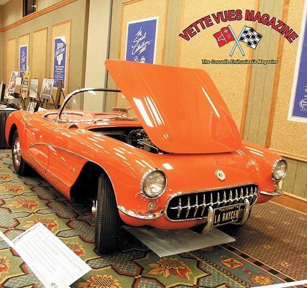 1957 Chevrolet Corvette 283/283 FI Pilot Production 579B