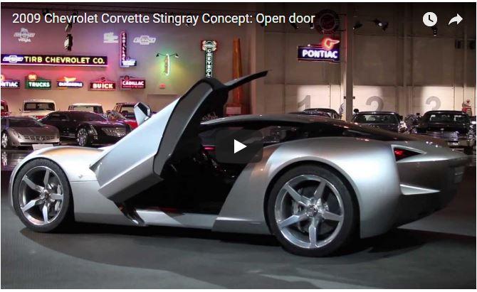 2009 Chevrolet Corvette Stingray Concept Scissor Doors