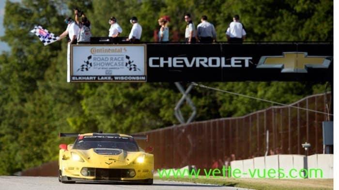 Corvette Racing Wins at Road America: GAVIN, MILNER SCORE DRAMATIC GTLM VICTORY