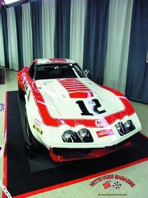 Owens Corning Fiberglass 1968 L-88 Corvette #12 on Display in Chip's Choice at the 2007 Corvettes at Carlisle