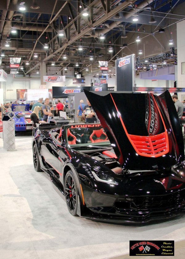 This 2016 Lingenfelter supercharged Z06 Corvette convertible is designed as a Signature Edition and is listed as serial # 001. The Vette itself is part of a charity fund-raising project and will be given away with proceeds going to the New Beginnings Children's Homes, which provides long-term residential care to foster children who have seen some of life's difficult issues.