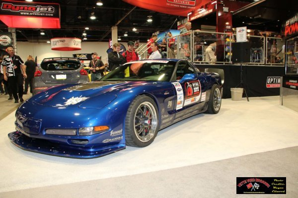 Lingenfelter's C5 Chevrolet Corvette Z06 Optima Street Challenge car.