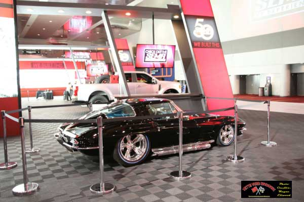1963 Black Corvette by Bobby Alloway