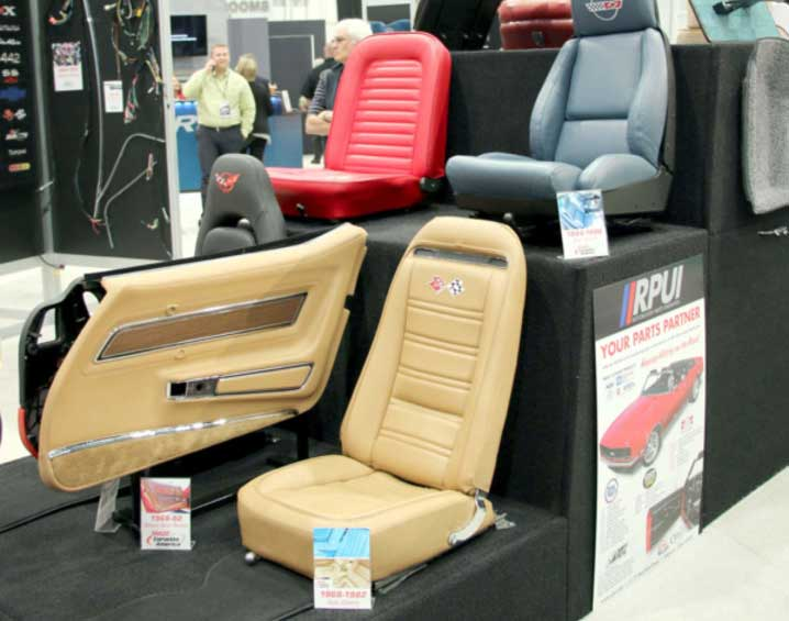 2016 SEMA COVERAGE – CORVETTE AMERICA INTERIOR PIECES