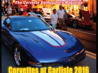 The Cover of the December 2016 issue of Vette Vues Magazine. Corvette Magazine Volume 45, Issue No. 5.