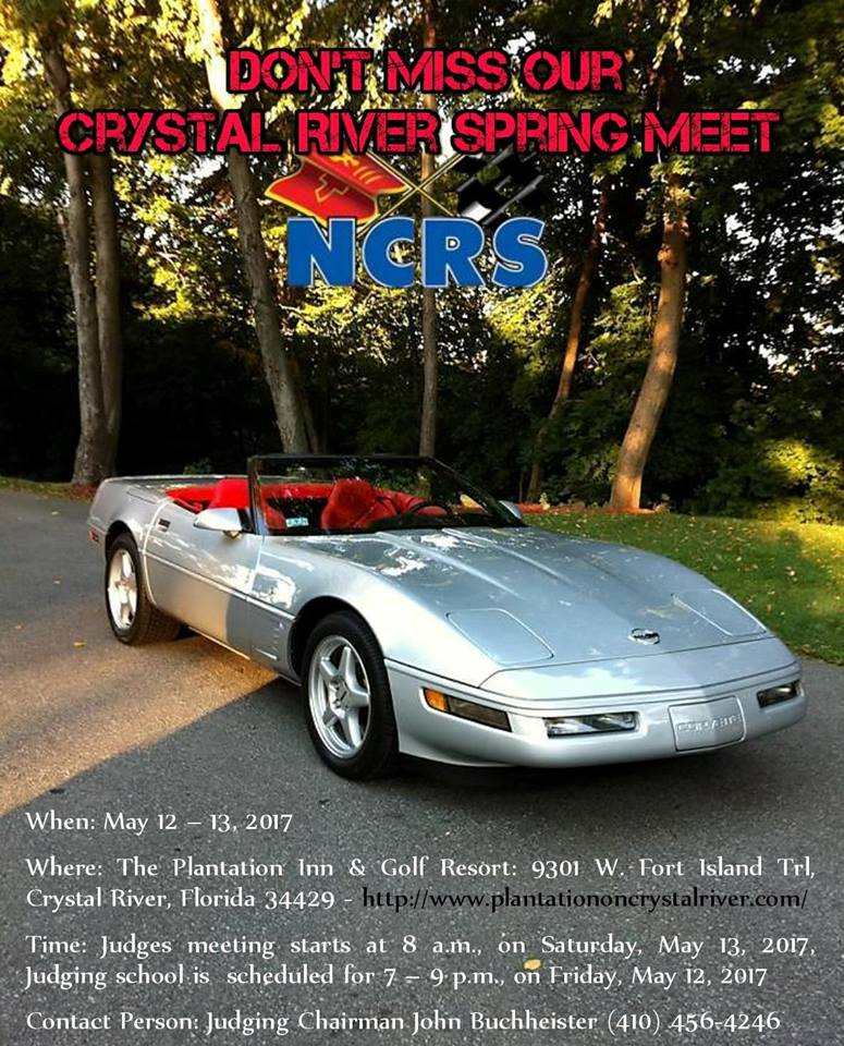 NCRS Crystal River Spring Meet