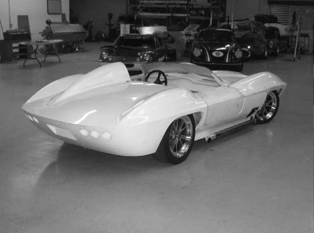 1959 Corvette Centurion For Sale, resemble 59 Corvette Racer with the hump behind driver's head, all new drive train, new wheels, tires, only one of a very few made, (7 or 8), very unique, body in great shape, $59,900.00 call 757-235-1130