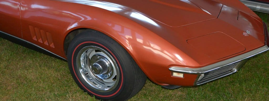 C3 1968 Bronze Chevrolet Corvette