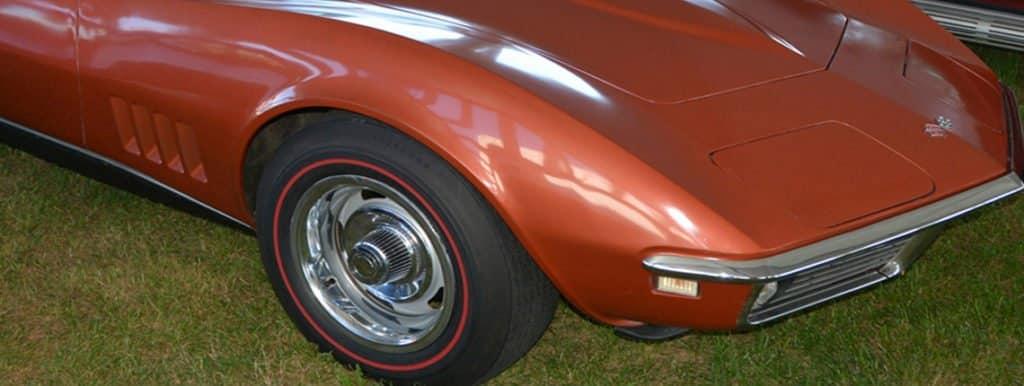 C3 1968 Bronze Chevrolet Corvette