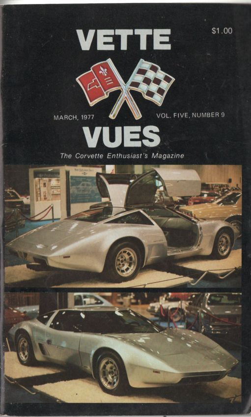 March 1977 Cover Vette Vues Magazine