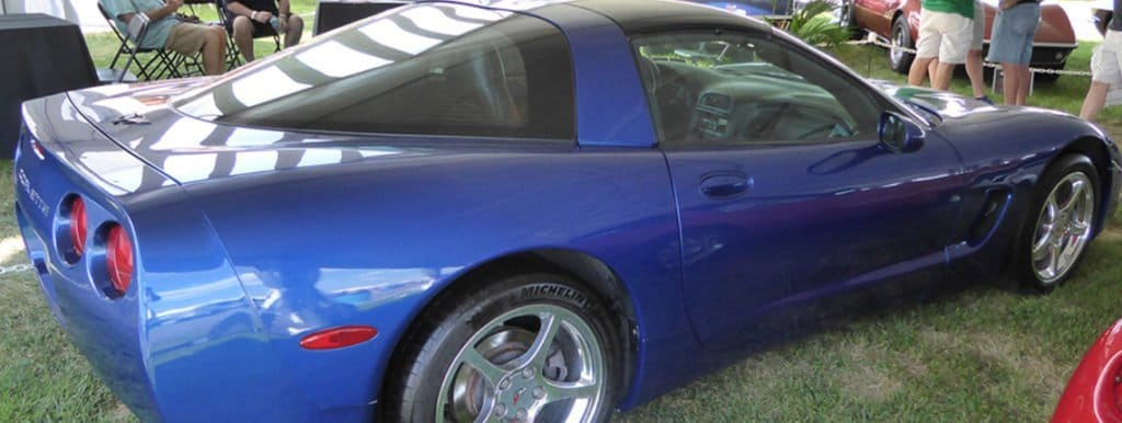 C5 Electron Blue Chevrolet Corvette