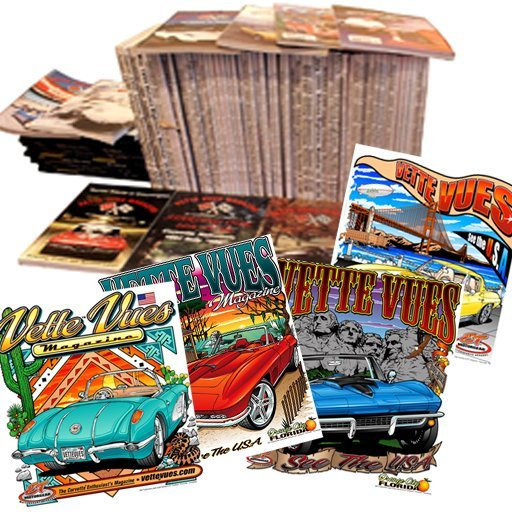 A Vette Vues Magazine Gift Subscription and T-shirt Combo gift is one of the Best Gifts for Car Lovers.