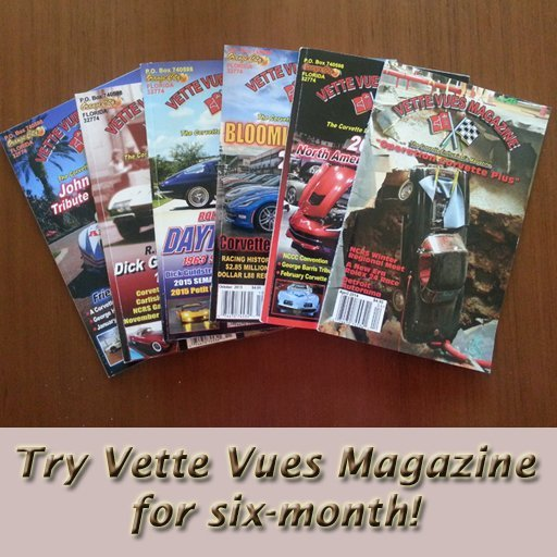 Special Offer: Six month trial-Corvette Magazine Subscription
