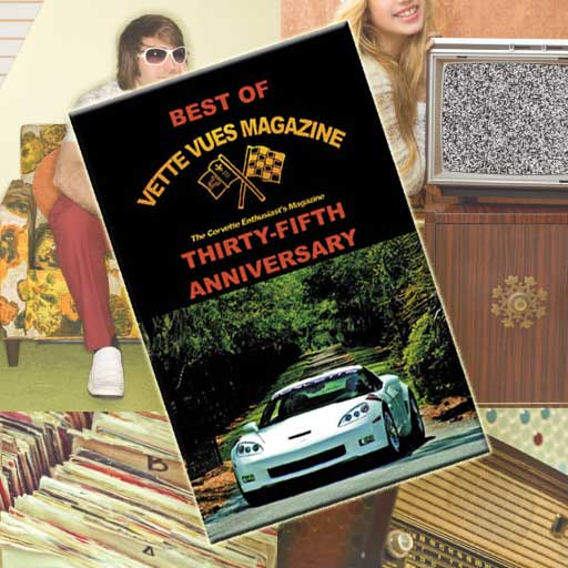 The Best of Vette Vues Magazine Anniversary Book is one of the Best Gifts for Car Lovers.