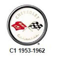 C1 Corvette Logo (1953-1962)