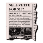 Corvette Classified Ads