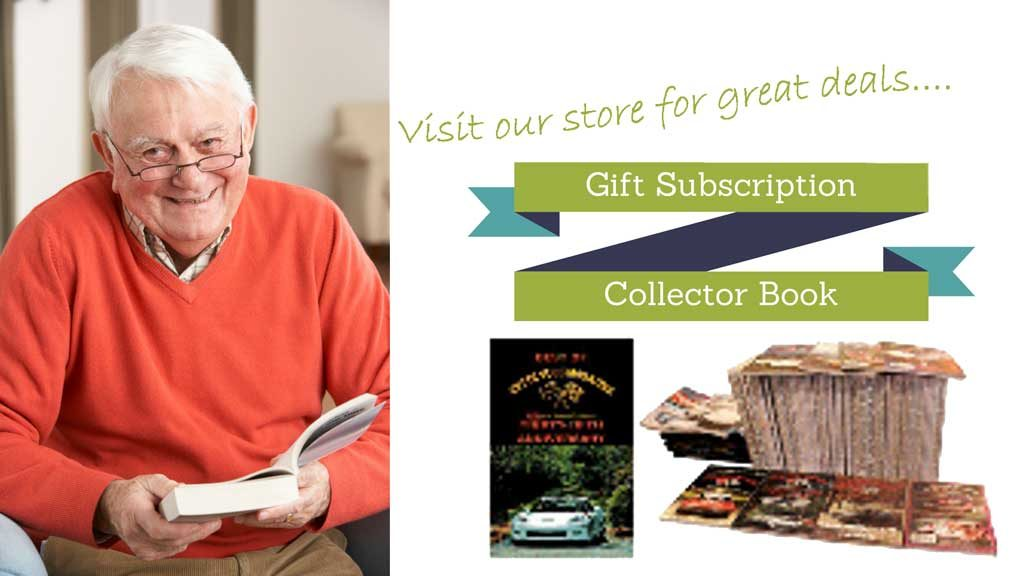 Check out our store for great ideas for Corvette Gifts and subscriptions.