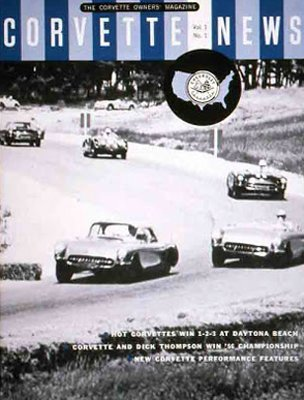 Corvette News, Volume One, Number One