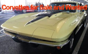 CORVETTES FOR SALE AND WANTED No matter if you are looking for a used Corvette for Sale or new Vettes for Sale, Vette Vues Magazine's Corvettes for Sale and Wanted Classified Ads is the place to look.  Many of the Corvettes for Sale are privately owned and many are one owner.