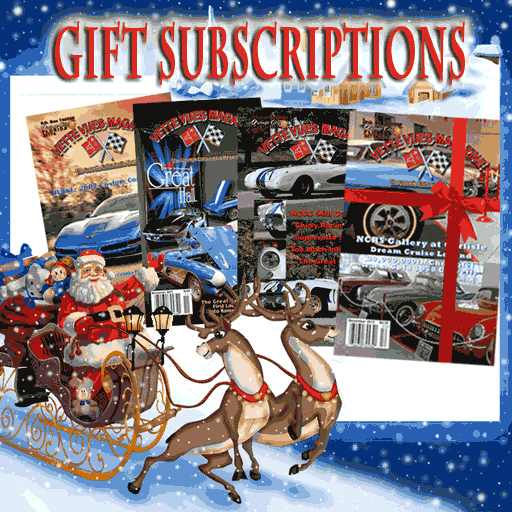 A gift subscription to Vette Vues Magazine, Corvette magazine, is one of the Best Gifts for Car Lovers.