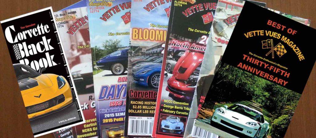 Vette Vues Magazine, the Corvette Magazine for Corvette Enthusiasts Valentine's Day Gifts.