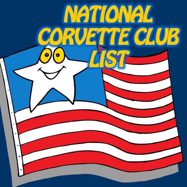 National Corvette Clubs Directory