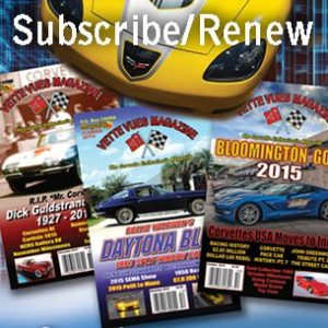 Subscribe or Renew to Vette Vues Magazine