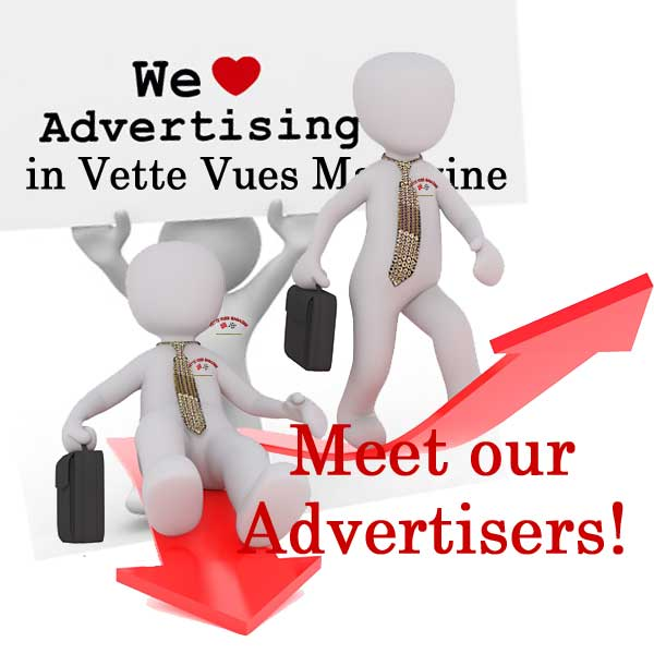 Meet Vette Vues Magazine Corvette Advertisers. Many of they have been advertising with us since 1972.