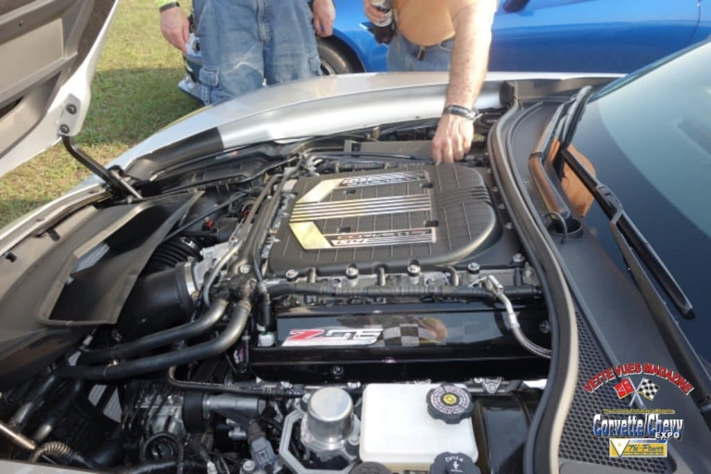 Friday Morning Corvette Corral. Friend's new Z06.