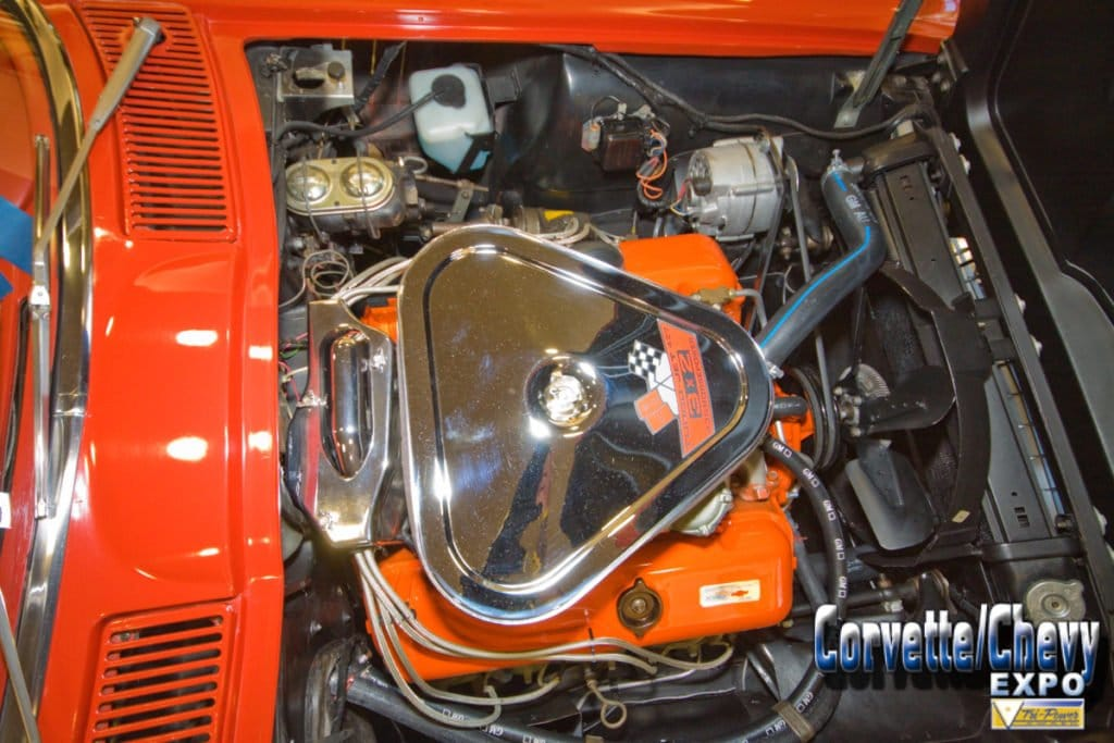 This beautiful 1967 Corvette received it Vette Vues Magazine's Tri-Power Award at the Galveston Corvette Chevy Expo. The 38th Corvette/Chevy Expo was held the beautiful Galveston Island Convention Center, right on the Gulf of Mexico February 27 & 28, 2016. The Corvette Chevy Expo features World Class Chevrolet Show Cars and Major Vendors selling parts and accessories specific to the Chevrolet brand.