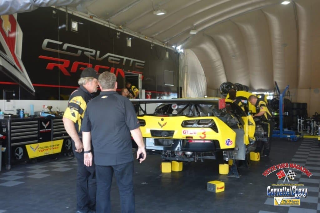 Corvette Racing No 3