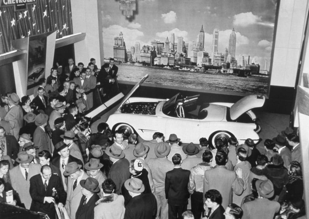 In 1953, General Motors introduced the 1953 Corvette at the Motorama. Since then Corvette has had many changes. Here are some Corvette photos from 1953 to today! Photo © General Motors