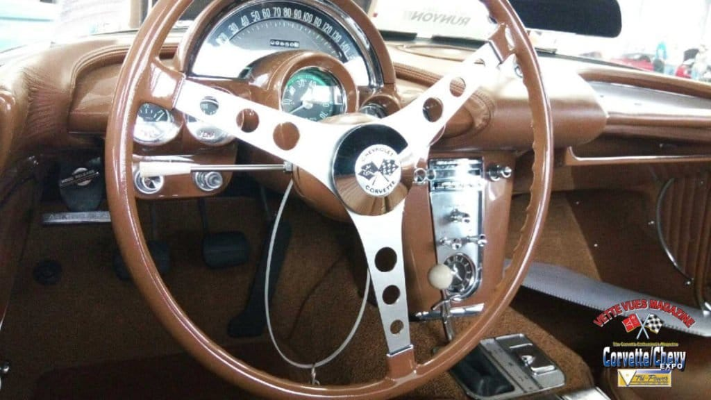 1962 Firemist Gold Corvette Styling Car Interior